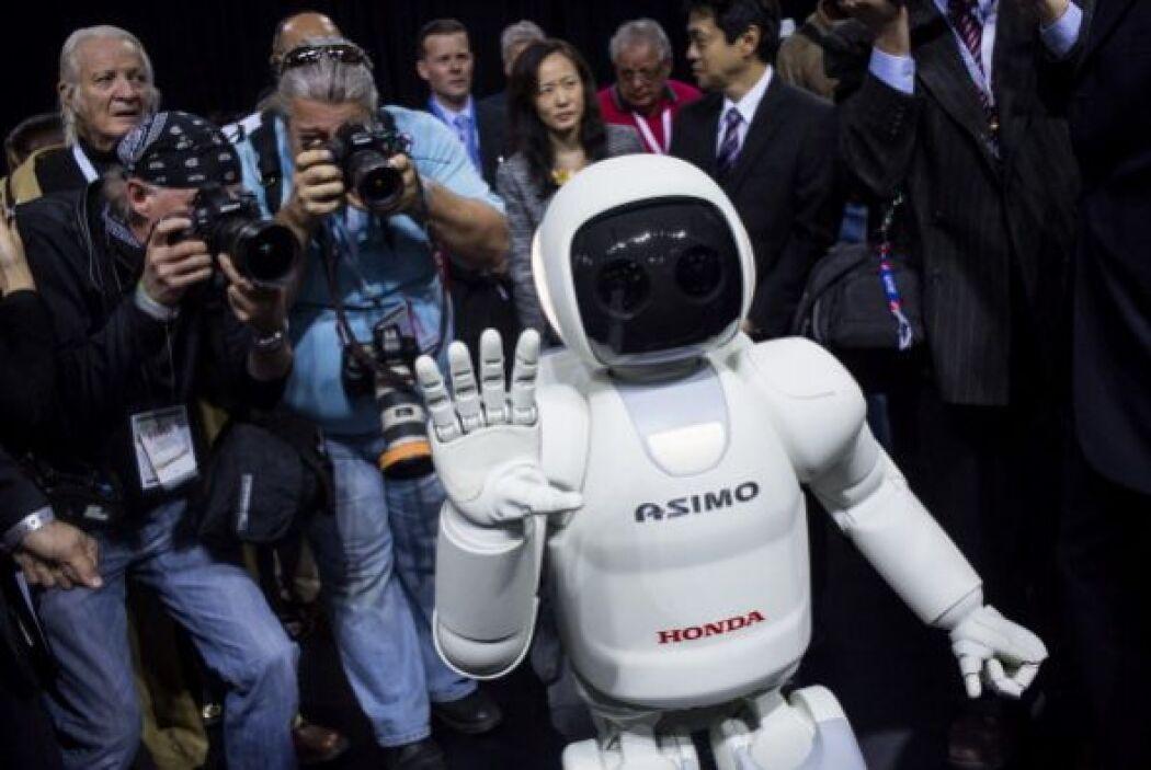La última versión de ASIMO data del año 2011, aunque físicamente ha camb...