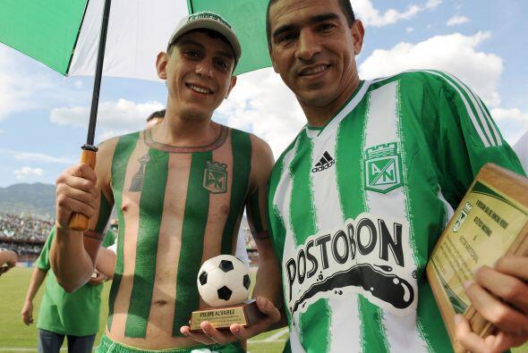 El propio Alvarez le entregó a Víctor Arístizabal u...