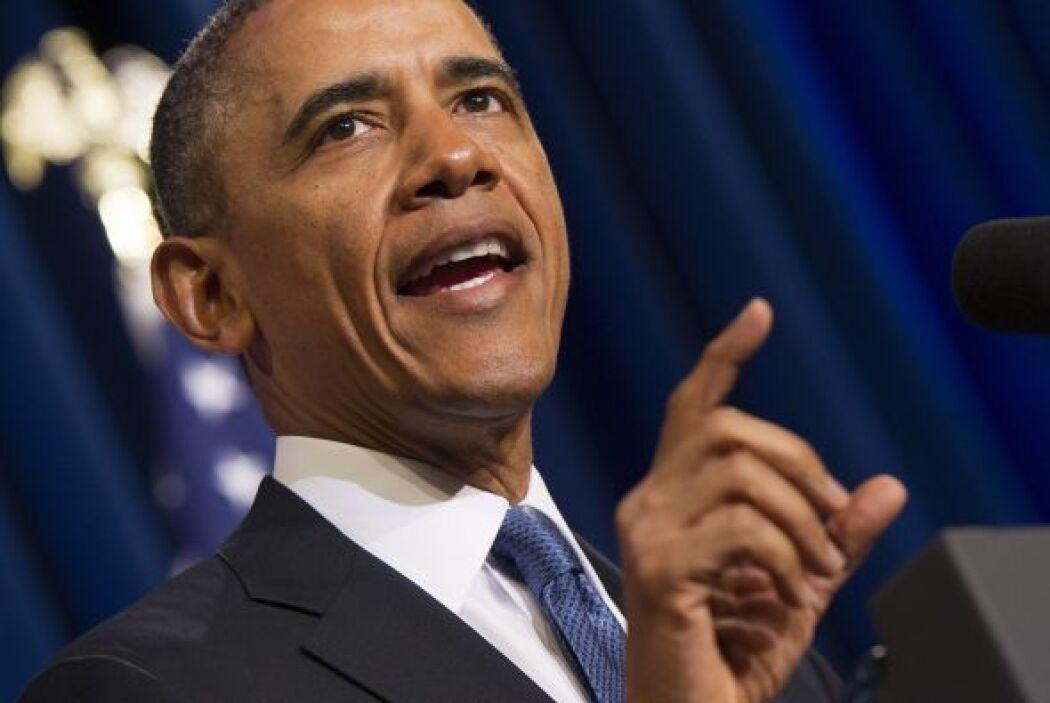 7 de junio: El presidente Barack Obama defiende la necesidad de un compr...
