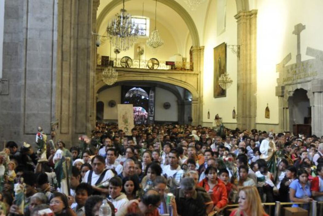 """TEMPLO DE SAN HIP""""LITO: El principal centro de devoción de San Judas Tad..."""