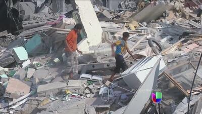 Operaciones militares en Gaza, lejos de detenerse