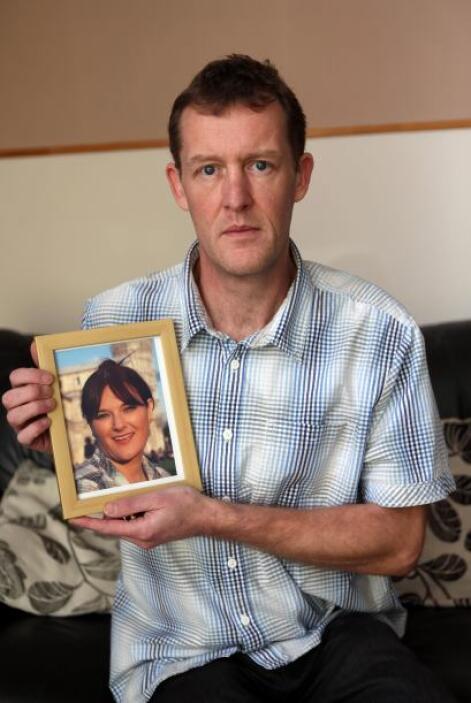 Para Michael, la rápida muerte de su esposa ha sido un verdadero 'shock'...