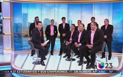 """La Charanga del Sur"" habla sobre su visita a Miami"