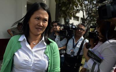 Hay una petición de inhabilitación de Keiko Fujimori por la supuesta ent...