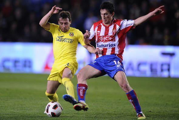 El cuadro del Sporting estaba metiéndose en el partido peleando c...