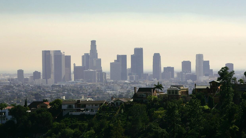 Skyline de Los Angeles.