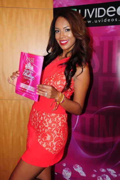 Heidy Sánchez de Colombia, audicionó en Miami. Ella es una de bellas que...