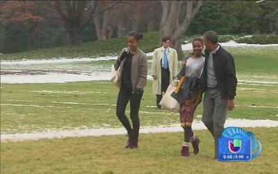 Malia Obama cumple 16 años este día de la independencia