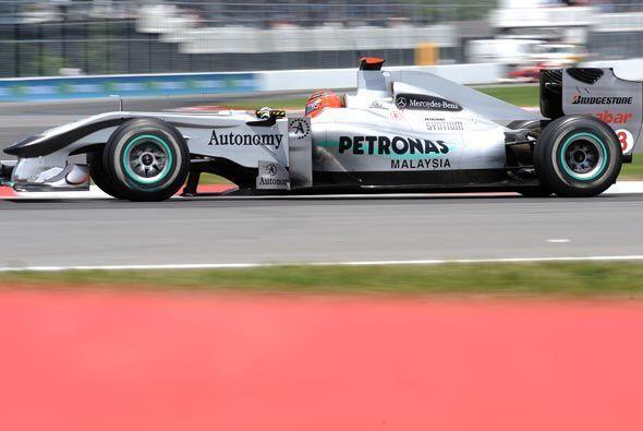 Aunque Schumacher ganó siete veces en este circuito, este año tuvo que c...