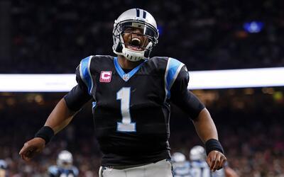 El increíble pase que Cam Newton convirtió en touchdown
