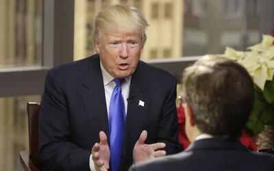 Donald Trump en entrevista con Chris Wallace, de Fox News