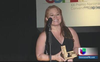 ¡Felicidades a Liza Lugo por su premio Asppro!