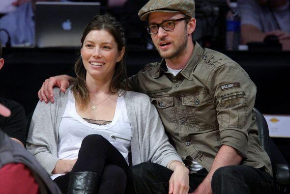 Jessica Biel y Justin Timberlake Ellos comenzaron a salir en enero de 20...