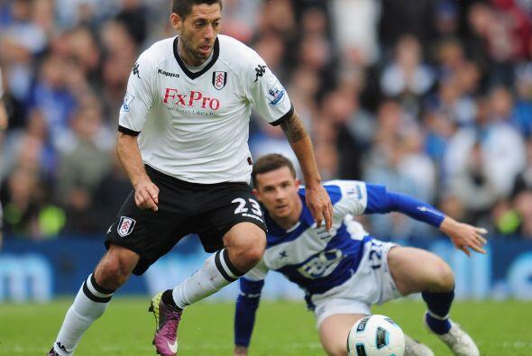 El Fulham, equipo que está en la parte media de la tabla general,...