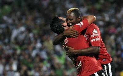 Duvier Riascos y Alfredo Moreno eran los goleadores de Xolos iniciando 2013