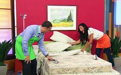 Limpia tu colchón como Alan Tacher, parte 2