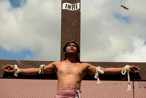 Aunque las crucifixiones más conocidas son las de San Pedro Cutud, tambi...