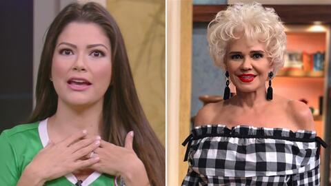 #DAEnUnMinuto: Ana Patricia se unió al reto #sinmaquillaje y Charytín ll...