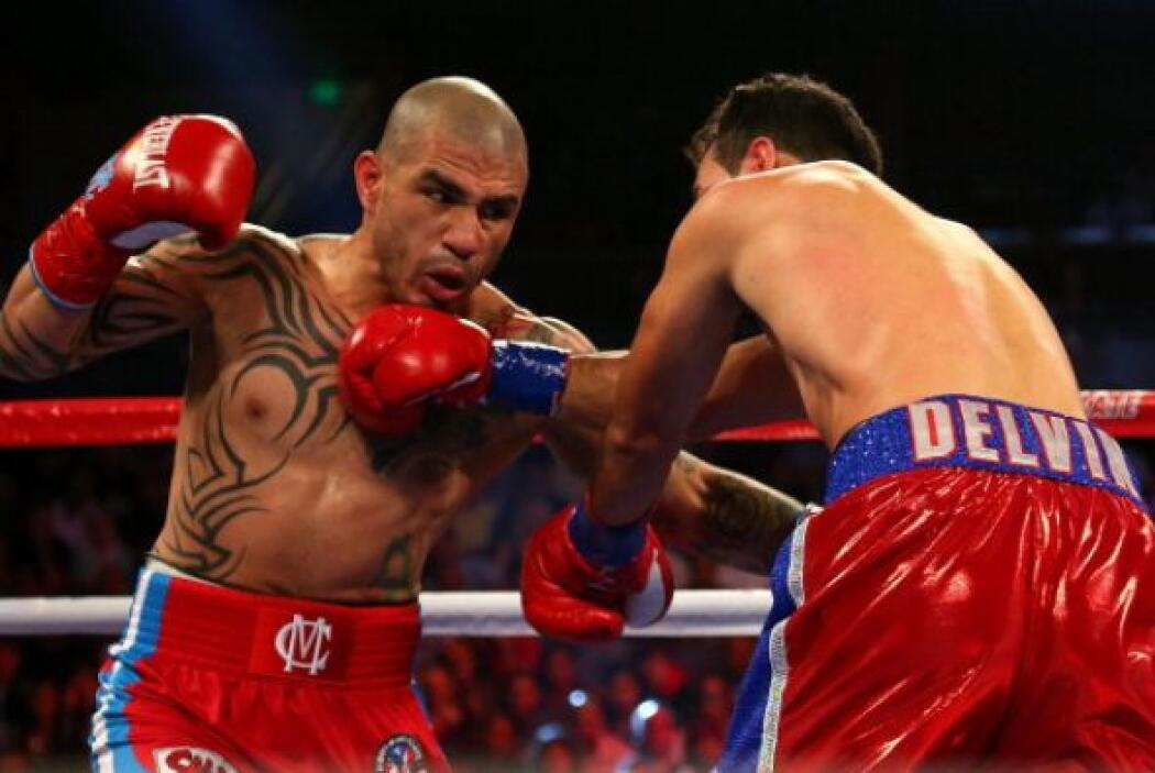El gancho de izquierda del puertorriqueño lo llevó al triunfo.