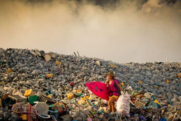 Las grandes cantidades de basura que el hombre se ha encargado de genera...
