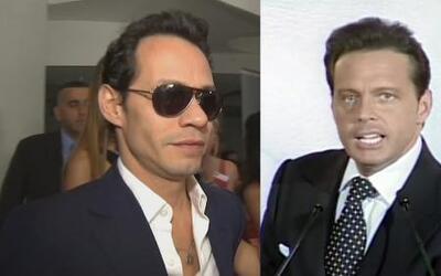 Luis Miguel y Marc Anthony se encuentran demandados en Estados Unidos