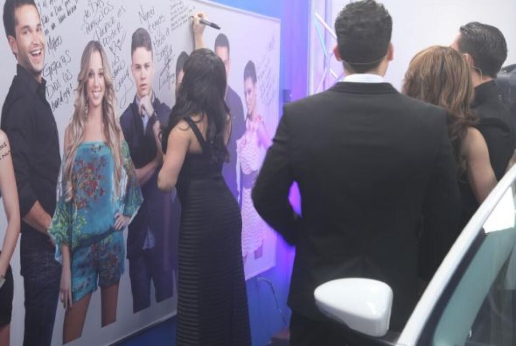 Shanik agradeció a Univision por la maravillosa experiencia. Dijo que ca...