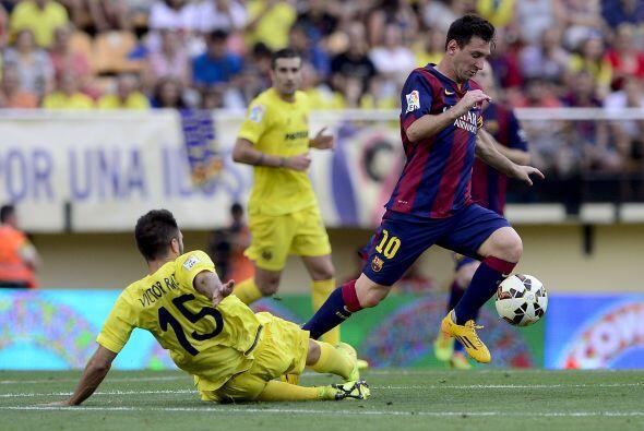 Lionel Messi era el motor de los catalanes, aunque no se encontraba clar...