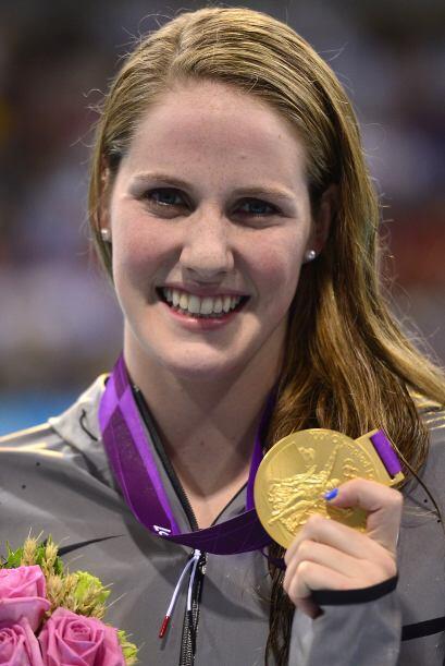 2- MISSY FRANKLIN, nadadora  Medallas de oro: 4  Medallas de plata: 0  M...