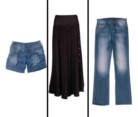 Unos shorts, unos skinny jeans o una falda vaporosa se convertirán en su...
