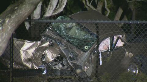 Tres personas, entre ellas dos niños, resultaron heridas en un aparatoso...