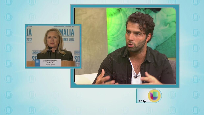 Jencarlos Canela le habló a Hillary Clinton de los problemas en Puerto R...