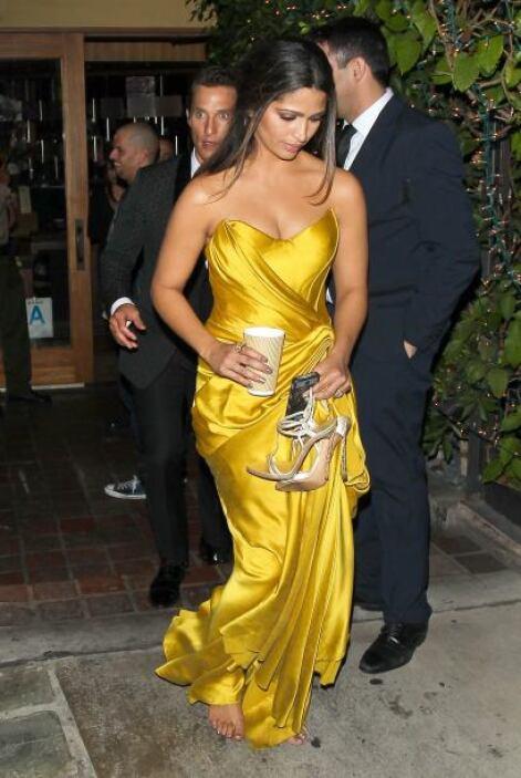Fue Camila Alves, esposa de Matthew McConaughey, quien de plano soltó su...