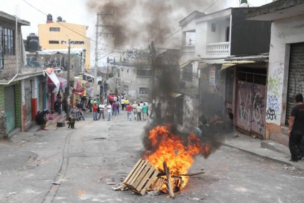 El conflicto comenzó después de que la Secretaría de Gobierno del DF pid...