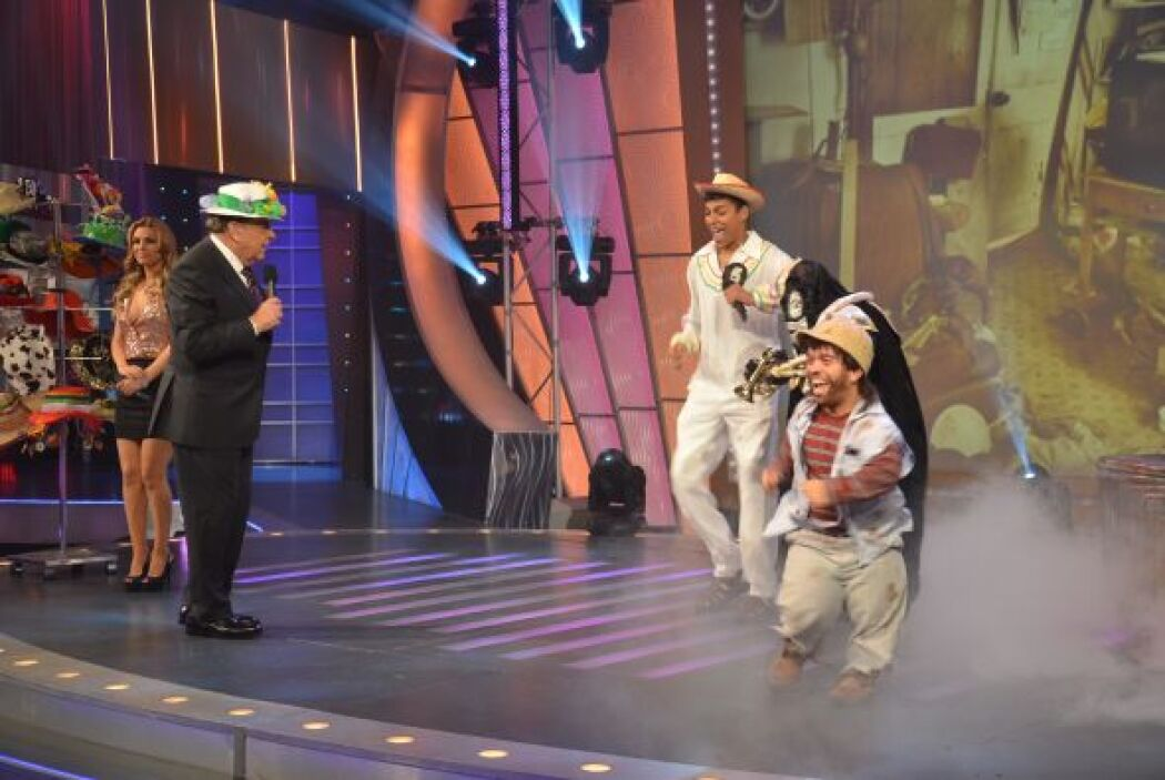¡A cantar, bailar y gozar! Ellos sí que saben moverse.