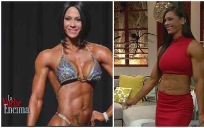 """Jessica Reyes asegura que """"el ejercicio y una buena nutrición te mantien..."""