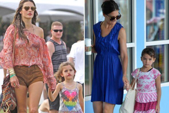 Estas famosas tuvieron la suerte de que sus hijas siguieran sus pasos y...