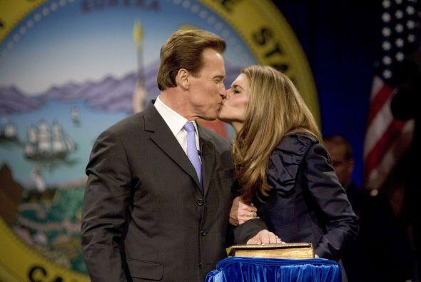 Arnold Schwarnegger y María Shriver  estuvieron casados durante 25 años....