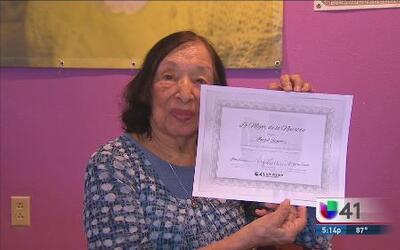 Lo Mejor de lo Nuestro: Isabel Sánchez, ayudando a educar