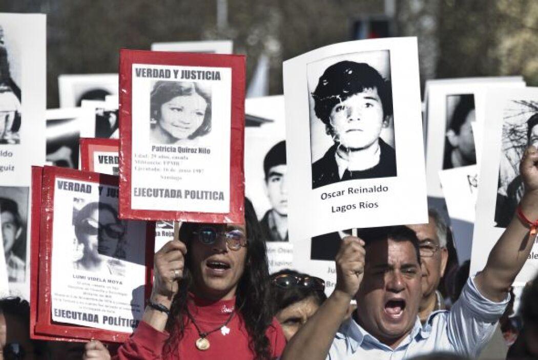 El exlíder estudiantil y actual candidato a diputado por Santiago Giorgi...