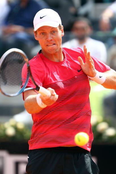 No hay que olvidar a otros tenistas, como el caso del checo Tomas Berdyc...