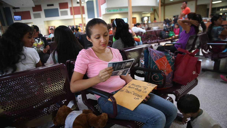 Madre indocumentada centroamericana