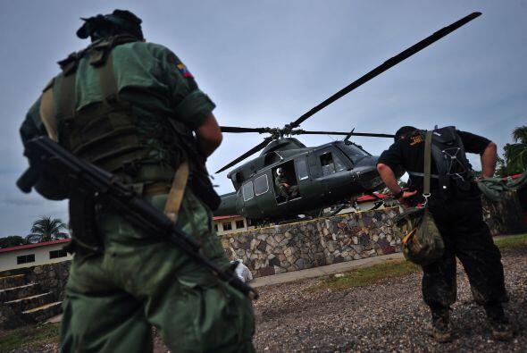 Mandos militares detallaron que el lugar estaba bien enmascarado en una...