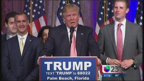 """""""Insignificante"""" el apoyo de Scott a Donald Trump"""