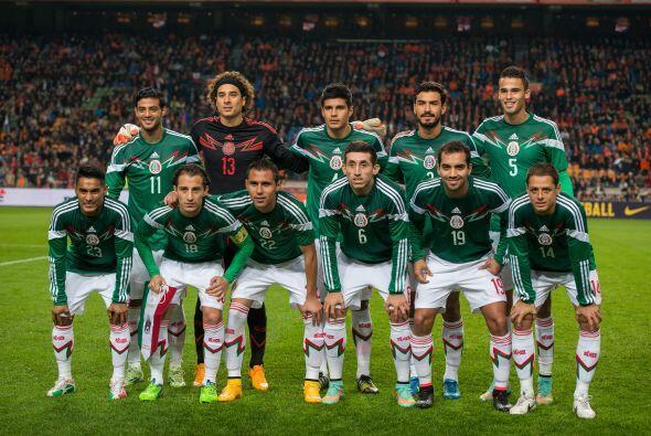 Tanto México como Holanda se tomaron con seriedad el encuentro amistoso...