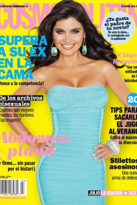 ¡La 'Cosmopolitan' engalanó el mes de julio con los encantos de Chiquinq...