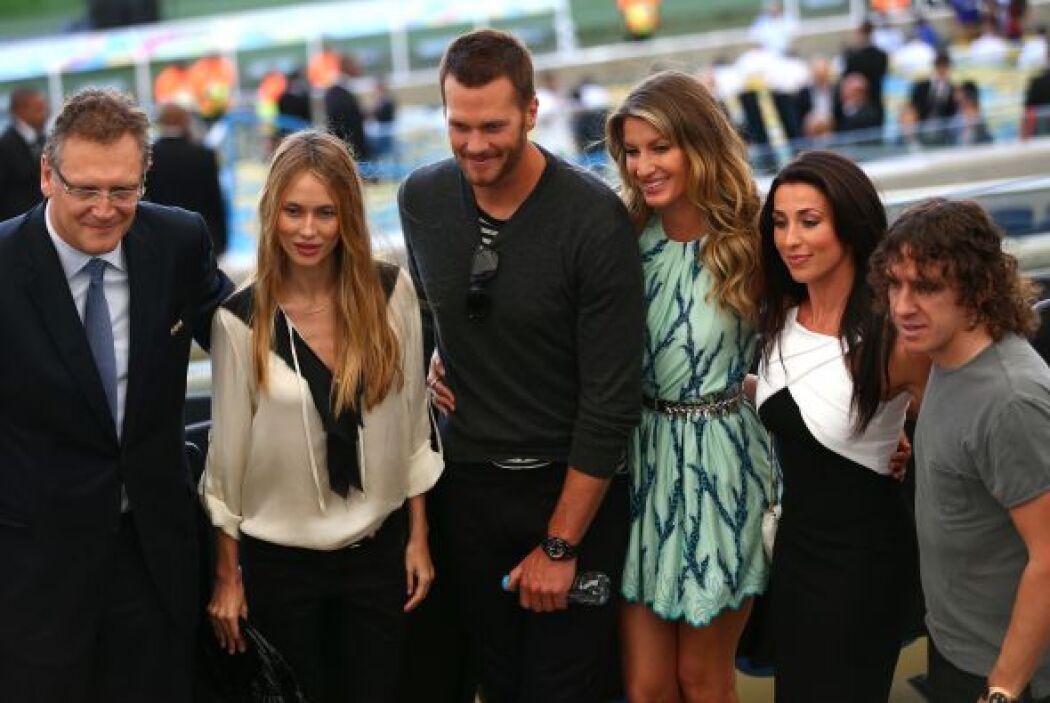 Tom Brady, Gisele y Puyol también hicieron lo suyo. Mira aquí los videos...