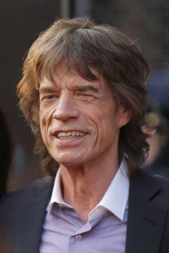 Mick Jagger también aparece en la lista. Varios medios rumoraron que tuv...