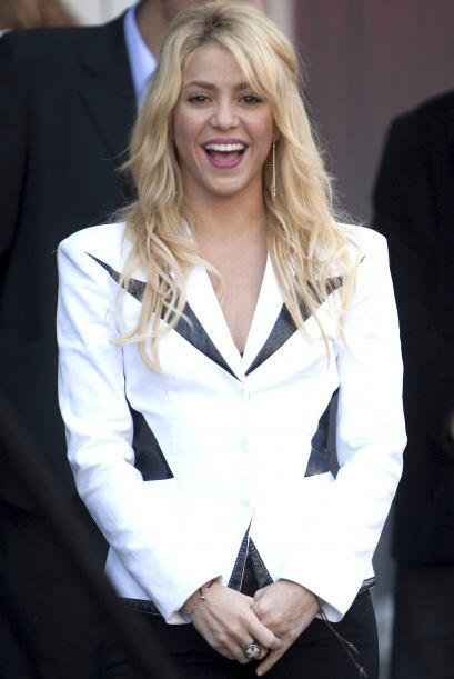 A lo largo de su carrera, Shakira ha tenido distintos 'looks' con los cu...