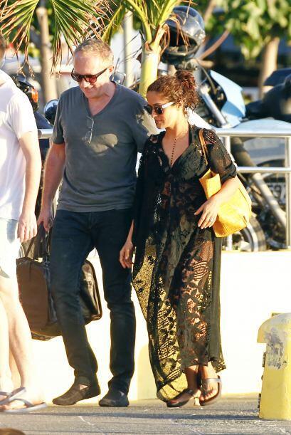 Pinault y ella llevaron a su cuerpo de seguridad hasta las Antillas fran...