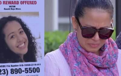 Un cartel con la recompensa por información del asesino de Danah...